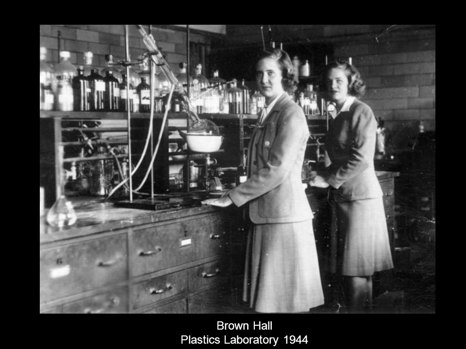 Brown Hall Plastics Laboratory 1944