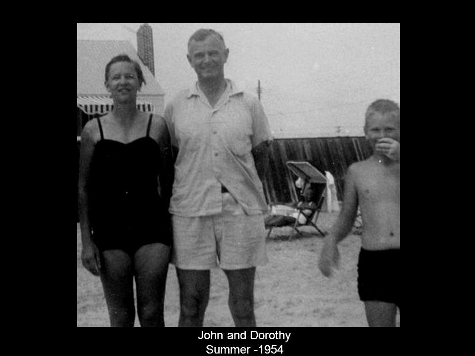 John and Dorothy Summer -1954