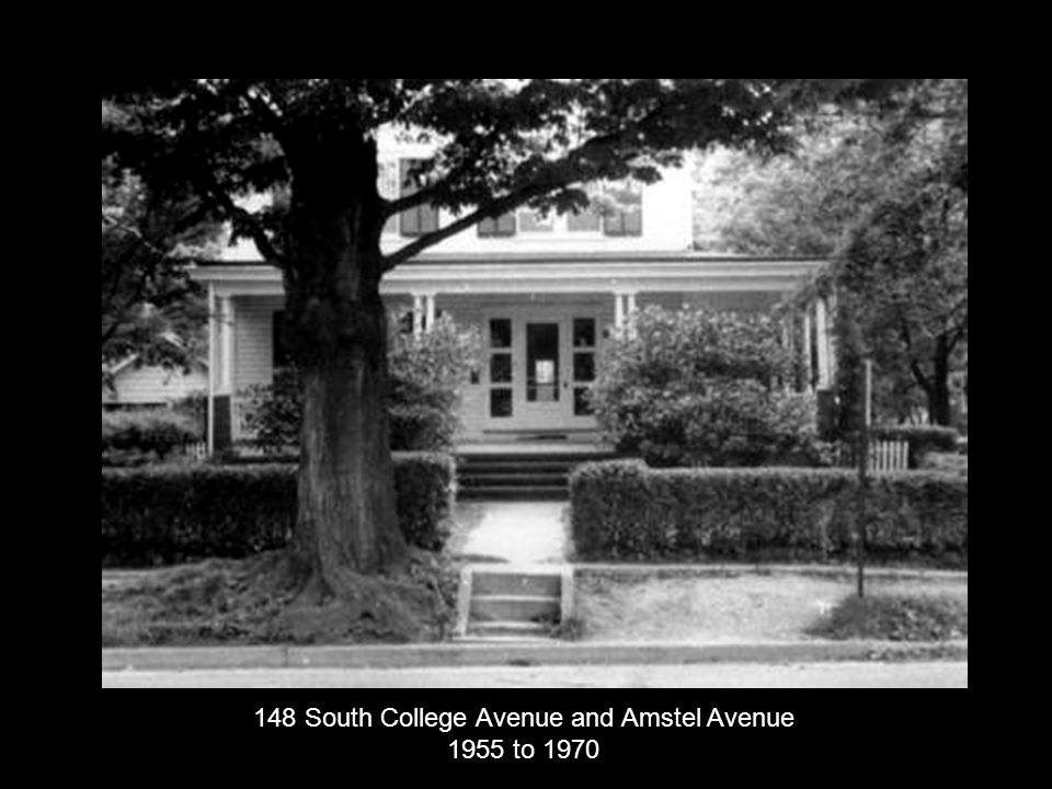 148 South College Avenue and Amstel Avenue