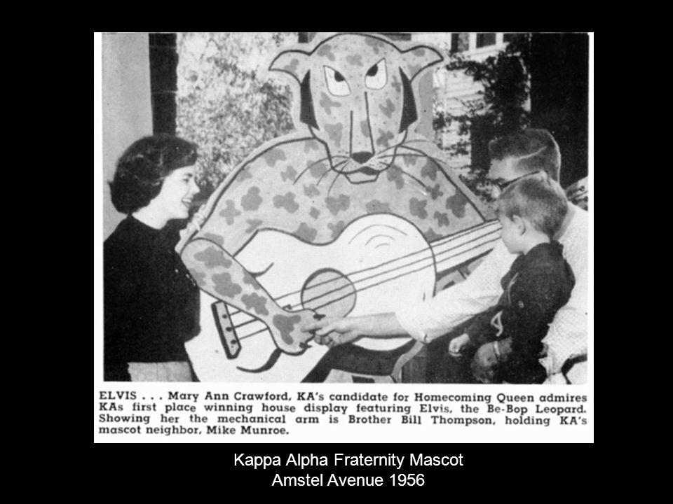 Kappa Alpha Fraternity Mascot