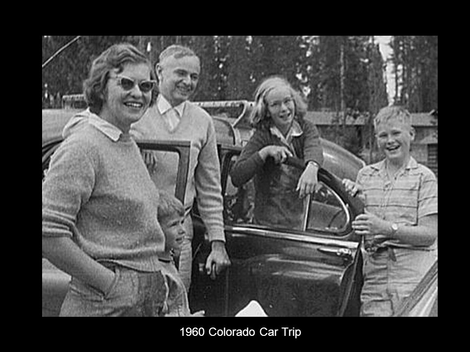 1960 Colorado Car Trip