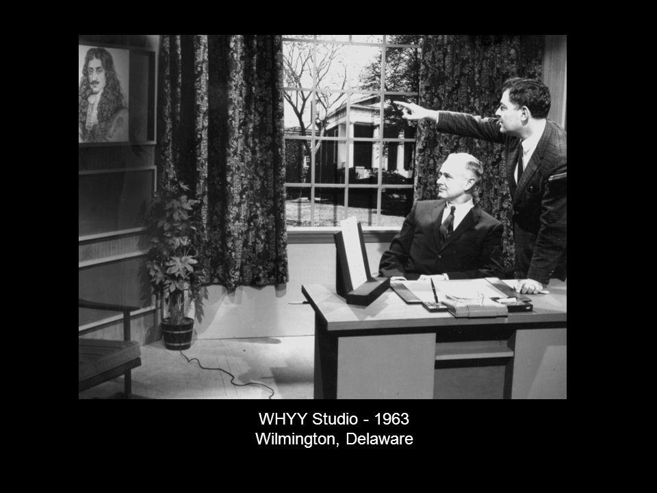 WHYY Studio - 1963 Wilmington, Delaware