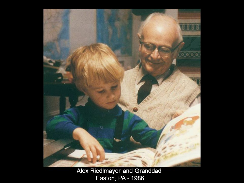 Alex Riedlmayer and Granddad