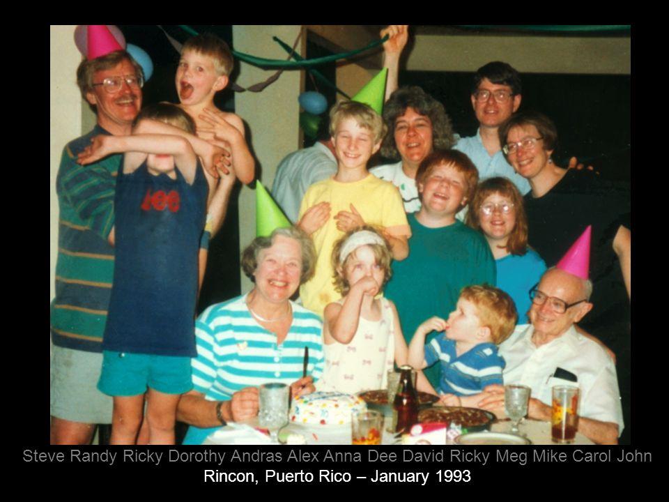 Rincon, Puerto Rico – January 1993