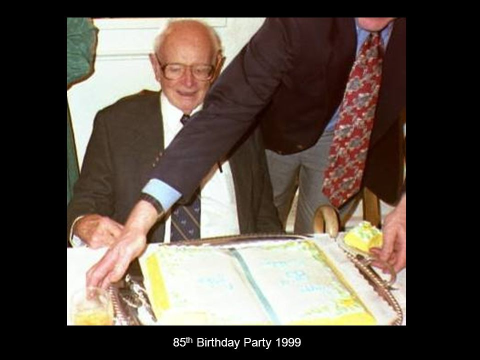 85th Birthday Party 1999