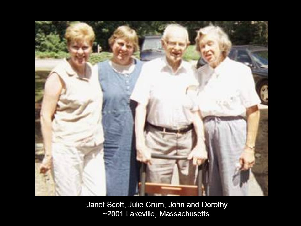 Janet Scott, Julie Crum, John and Dorothy