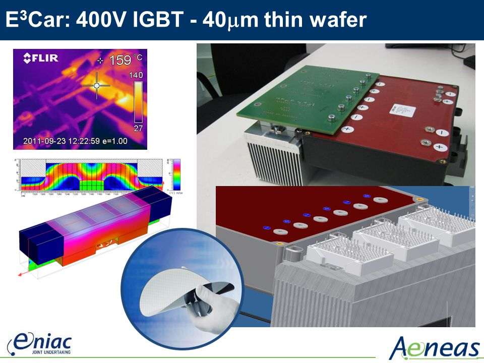 E3Car: 400V IGBT - 40mm thin wafer