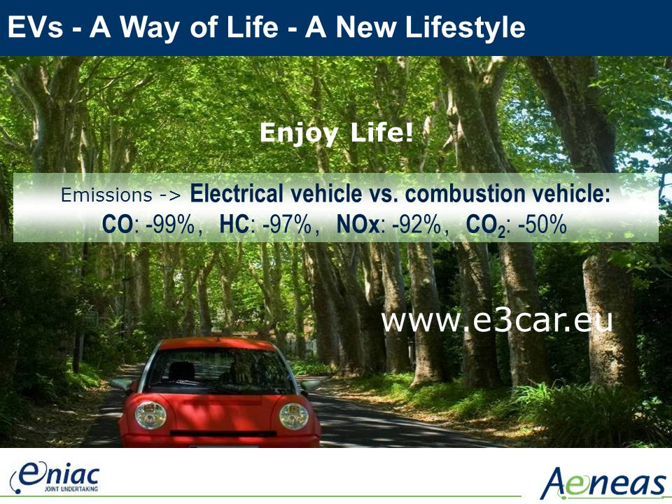 EVs - A Way of Life - A New Lifestyle