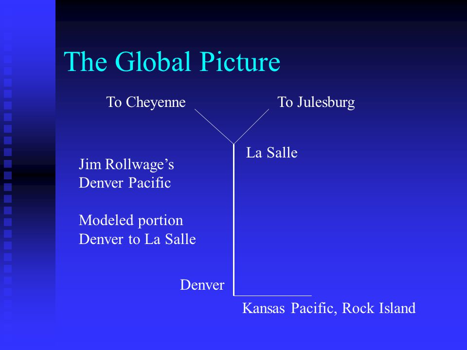 The Global Picture To Cheyenne To Julesburg La Salle Jim Rollwage's