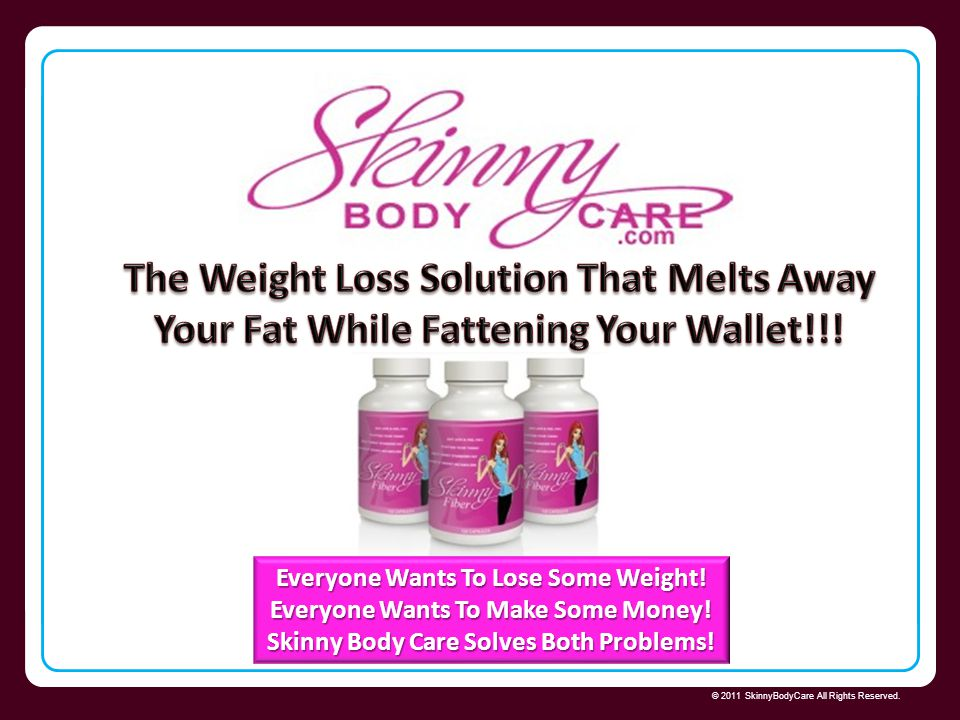 The Weight Loss Solution That Melts Away Your Fat While Fattening Your Wallet!!!