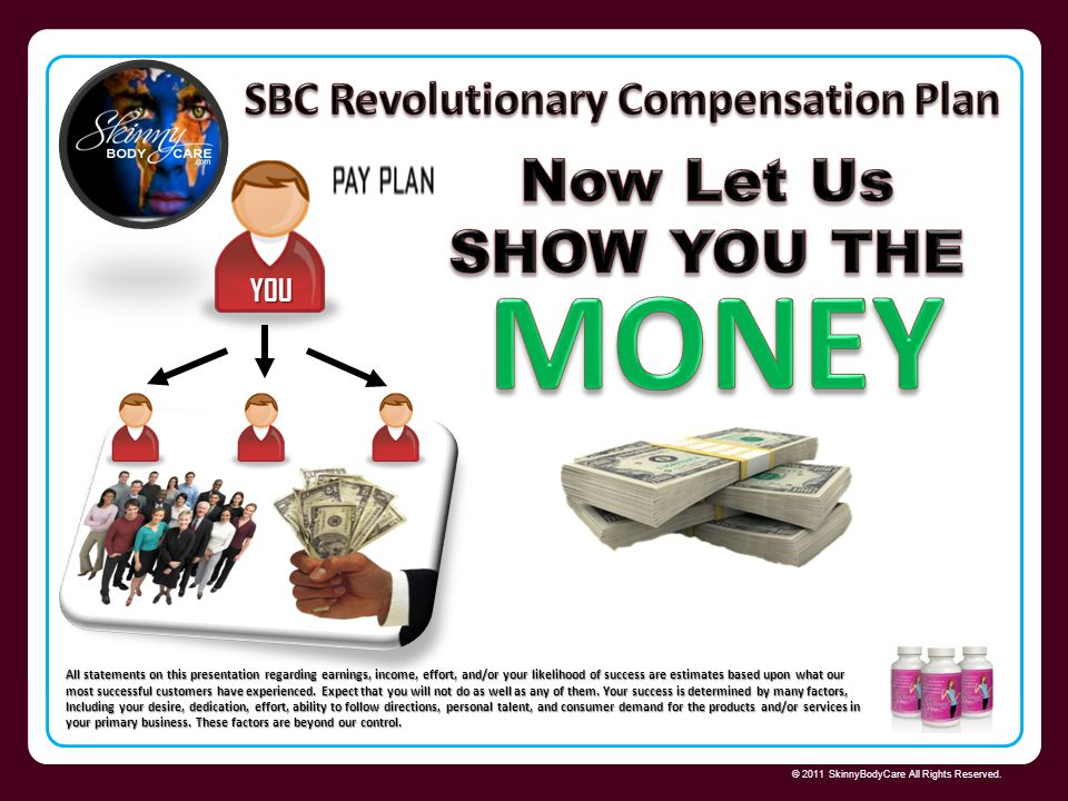 SBC Revolutionary Compensation Plan