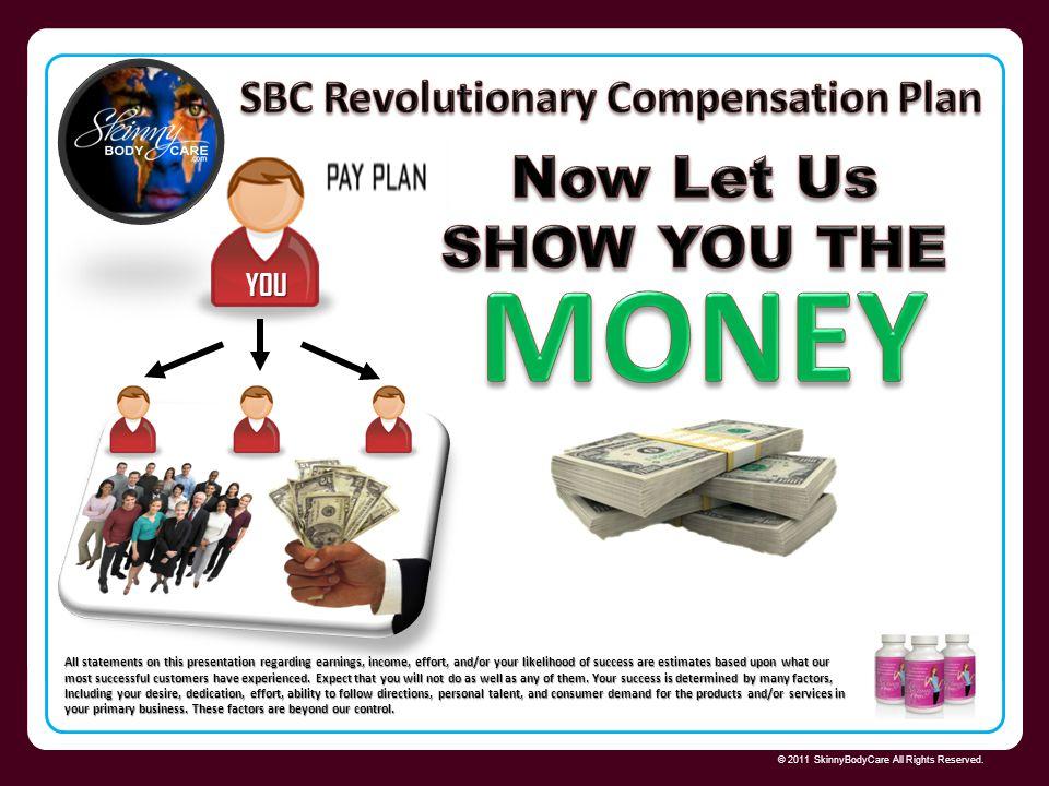 SBC Revolutionary Compensation Plan