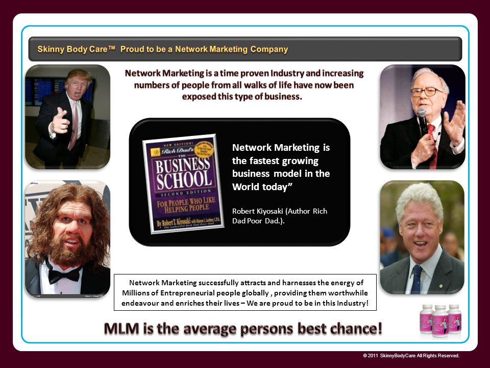 MLM is the average persons best chance!