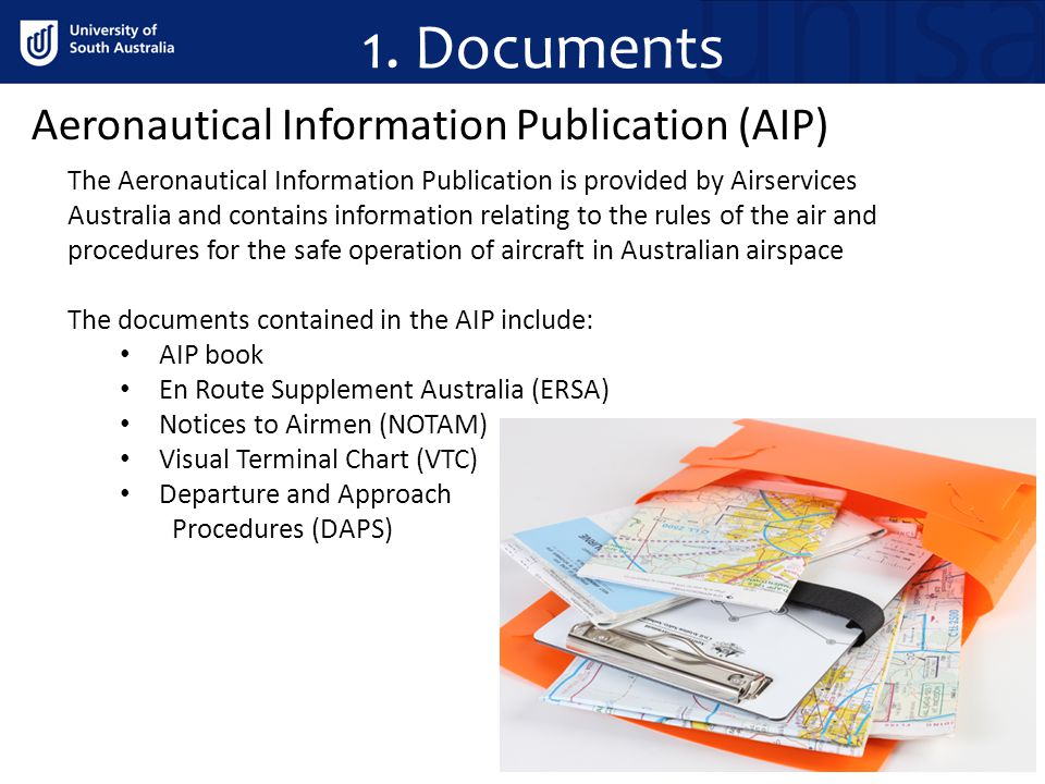 1. Documents Aeronautical Information Publication (AIP)