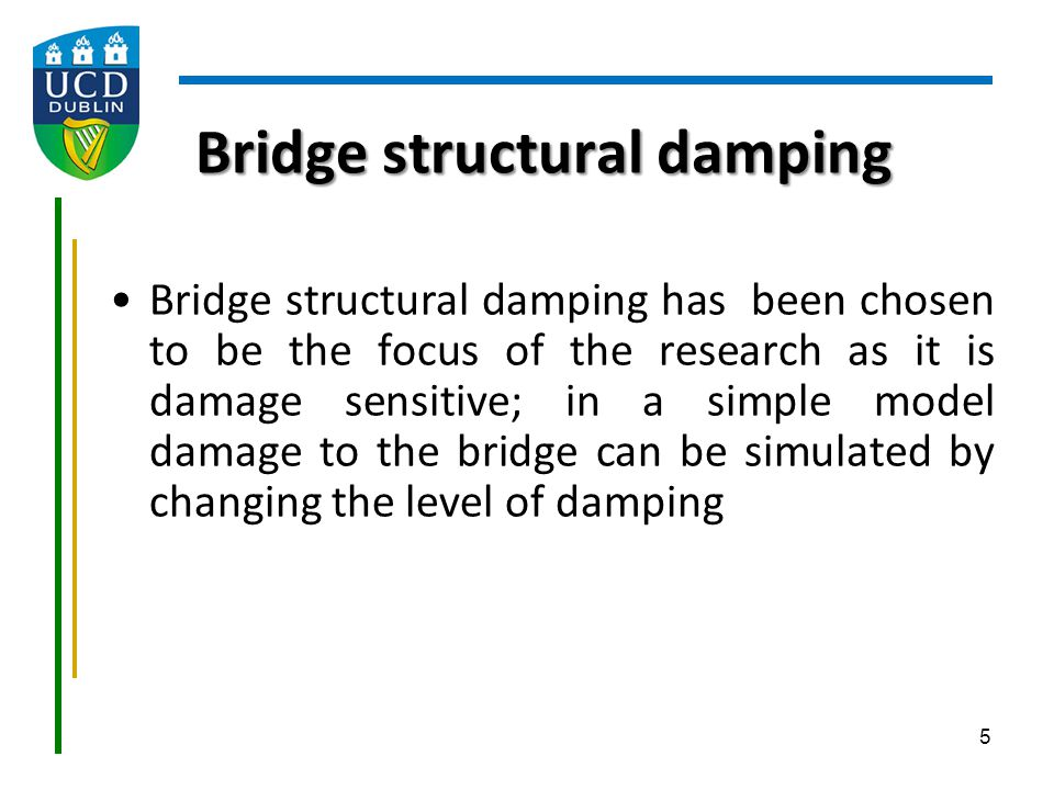 Bridge structural damping