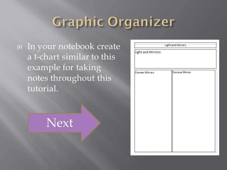 Graphic Organizer Next