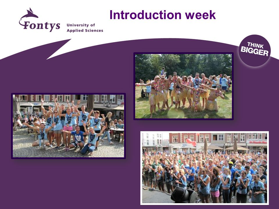 Introduction week