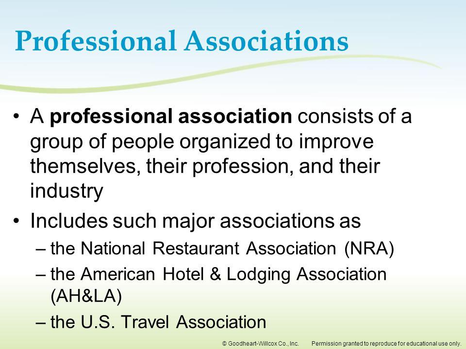 Professional Associations