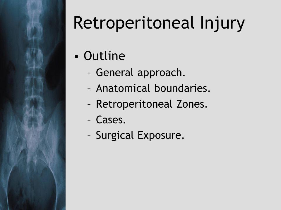 Retroperitoneal Injury