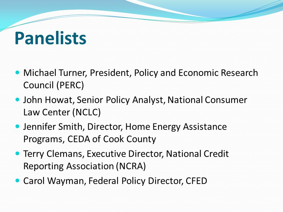 Panelists Michael Turner, President, Policy and Economic Research Council (PERC)