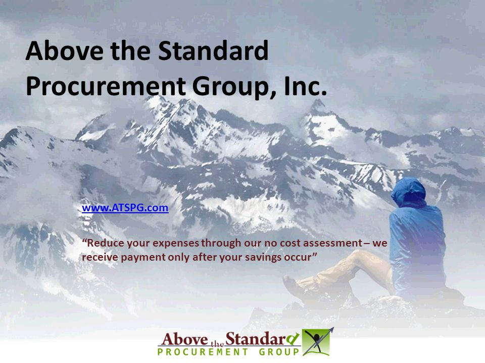 Above the Standard Procurement Group, Inc.
