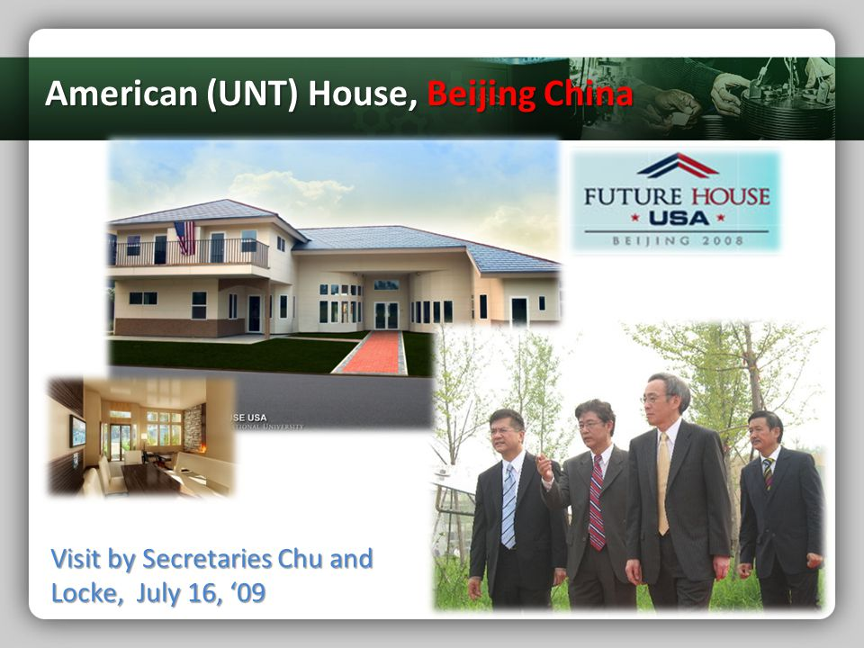 American (UNT) House, Beijing China