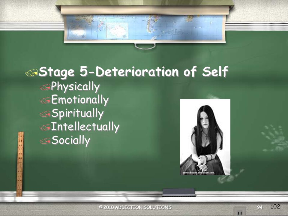 Stage 5-Deterioration of Self