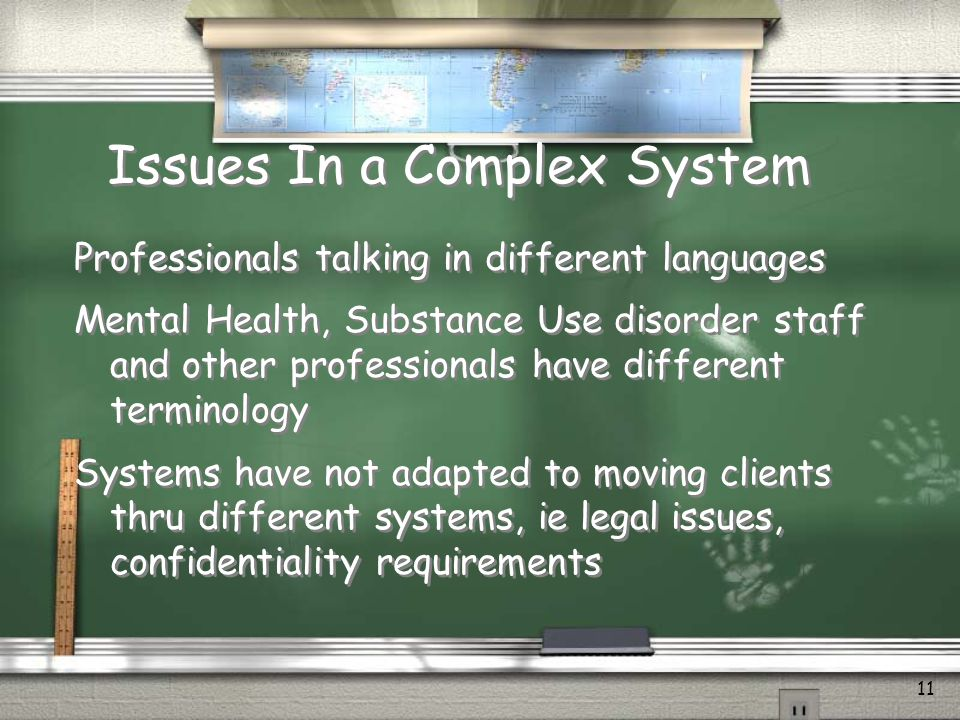 Issues In a Complex System