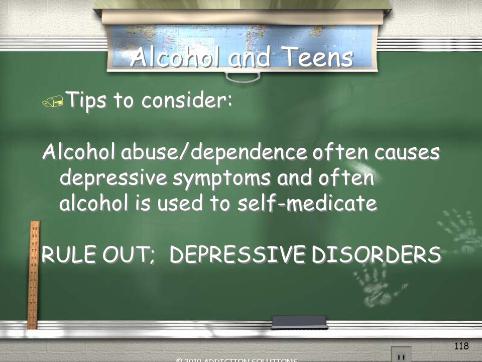 Alcohol and Teens Tips to consider: