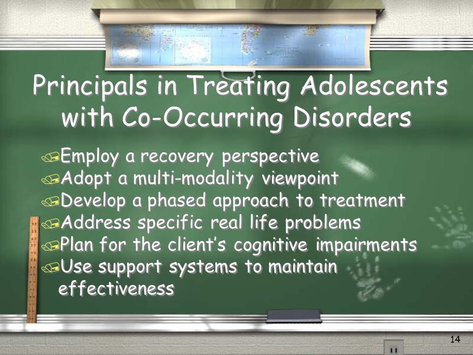 Principals in Treating Adolescents with Co-Occurring Disorders