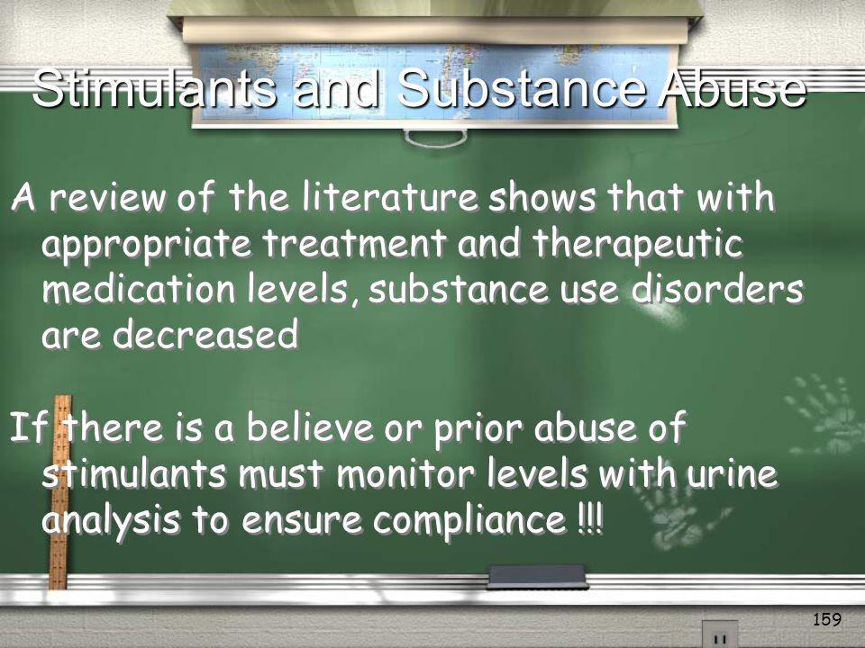 Stimulants and Substance Abuse