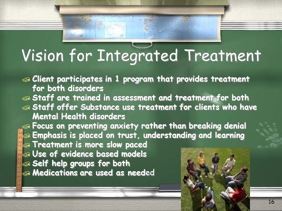 Vision for Integrated Treatment