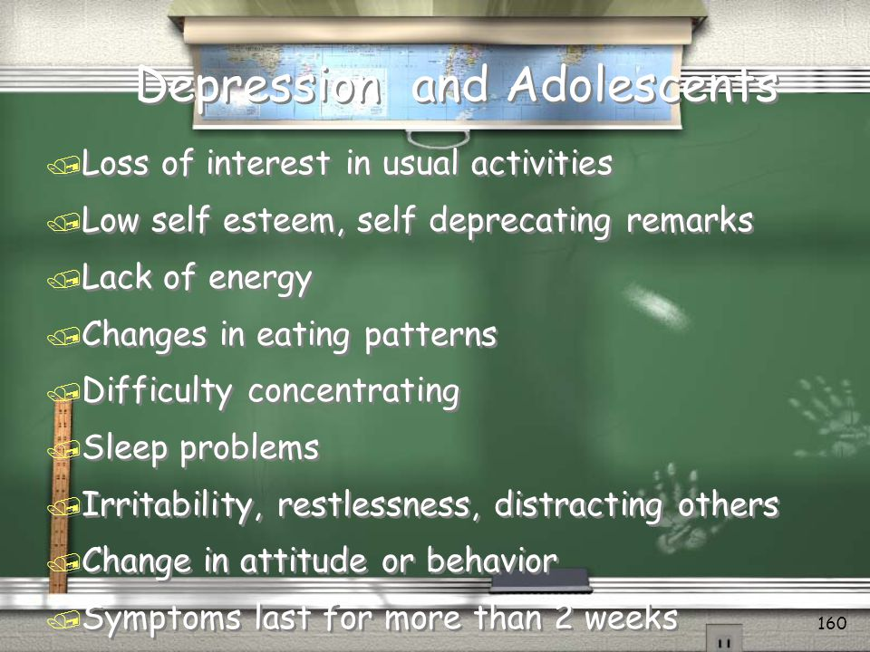 Depression and Adolescents