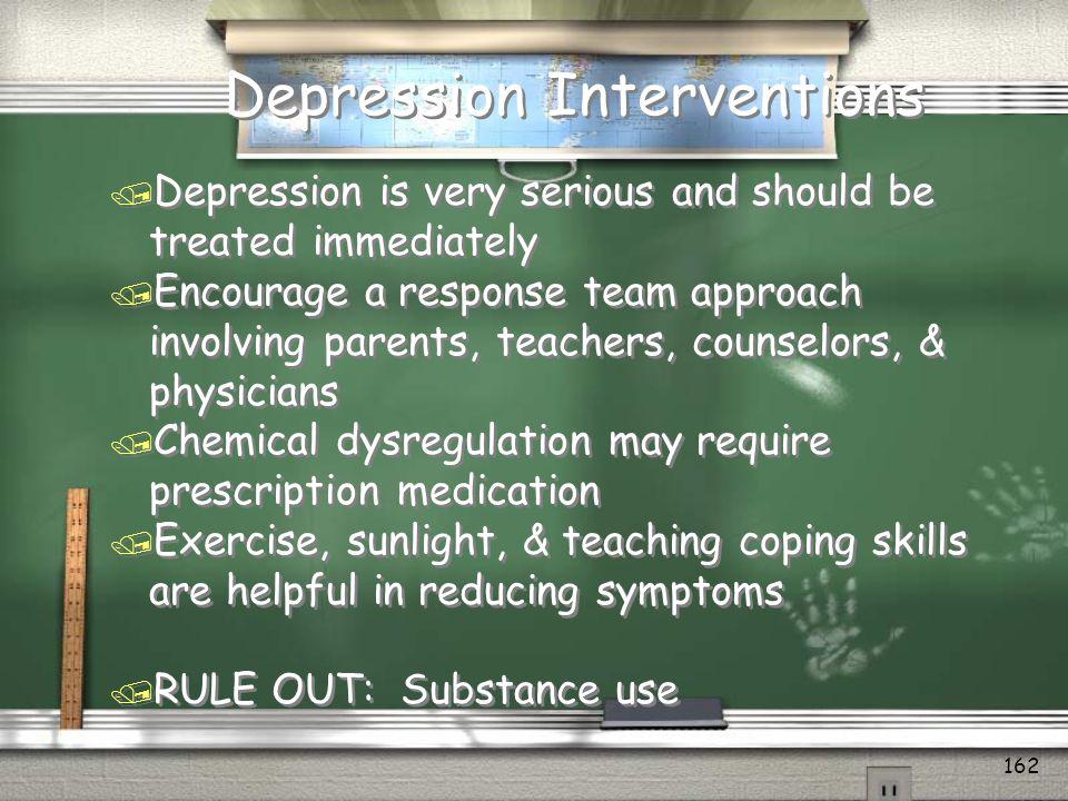 Depression Interventions