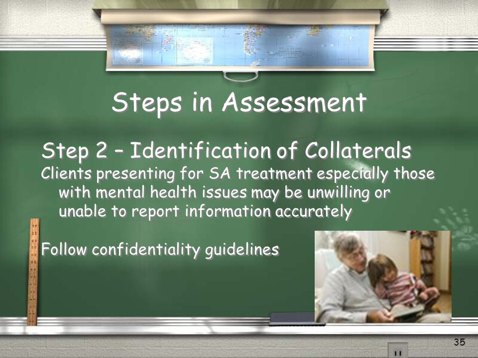 Steps in Assessment Step 2 – Identification of Collaterals