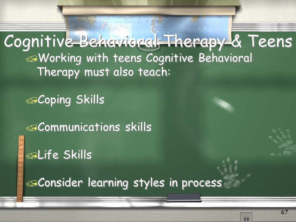 Cognitive Behavioral Therapy & Teens