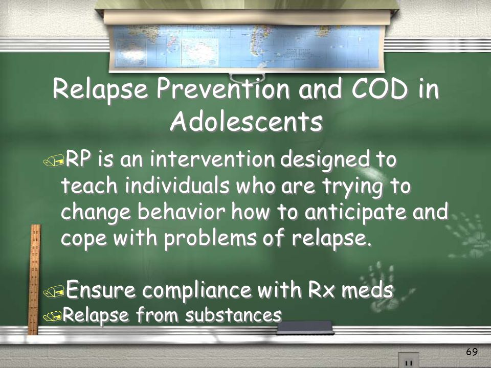 Relapse Prevention and COD in Adolescents