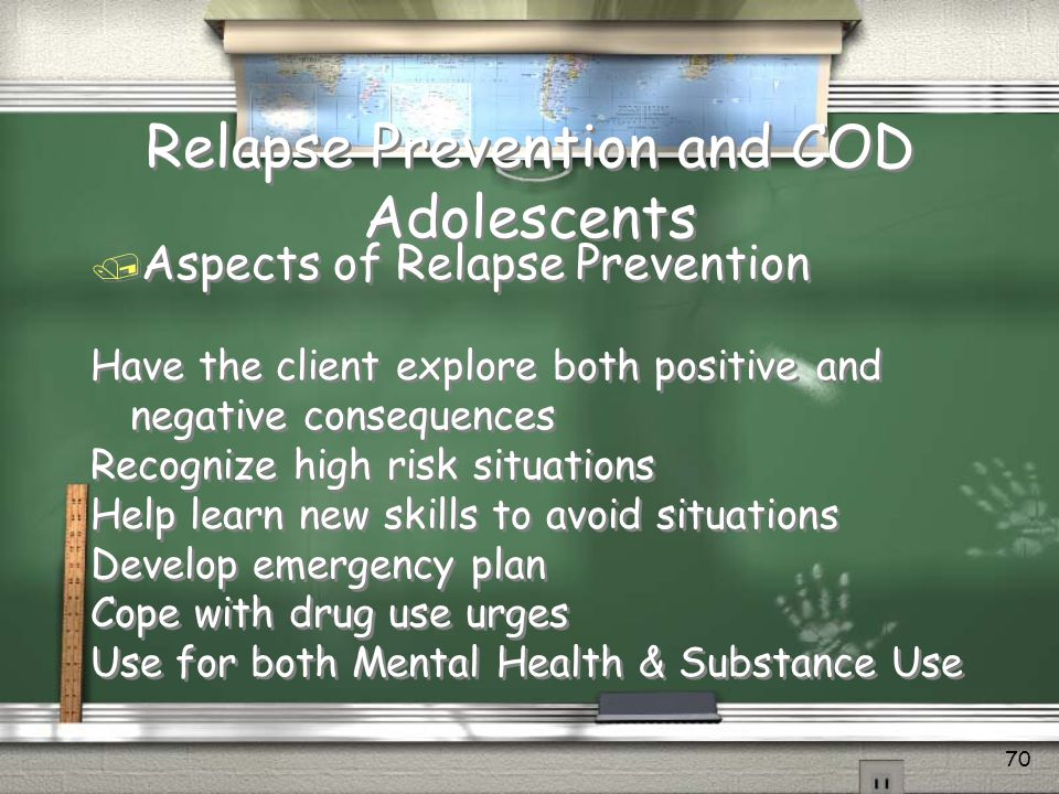 Relapse Prevention and COD Adolescents
