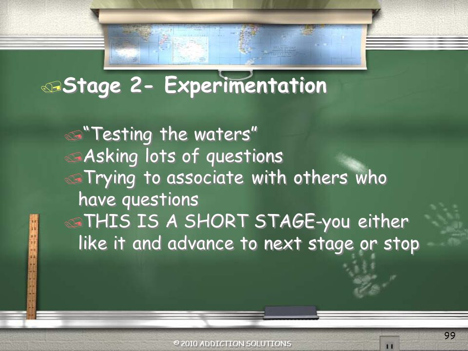 Stage 2- Experimentation