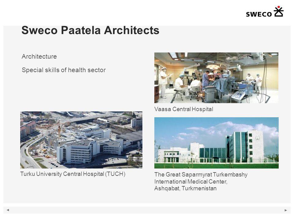 Sweco Paatela Architects