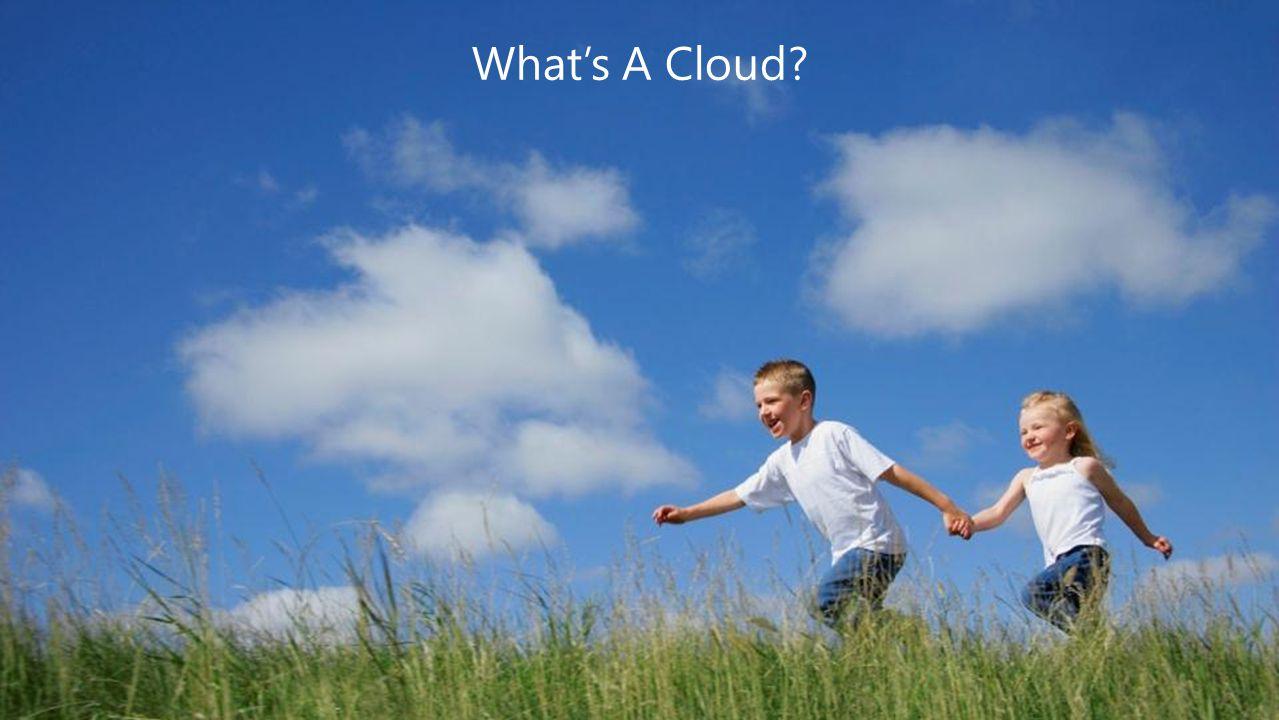 Computer Rooms: Cloud COGS Matter