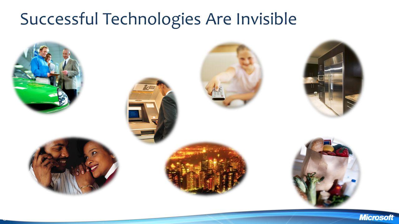 Successful Technologies Are Invisible