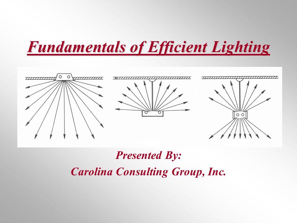 Fundamentals of Efficient Lighting