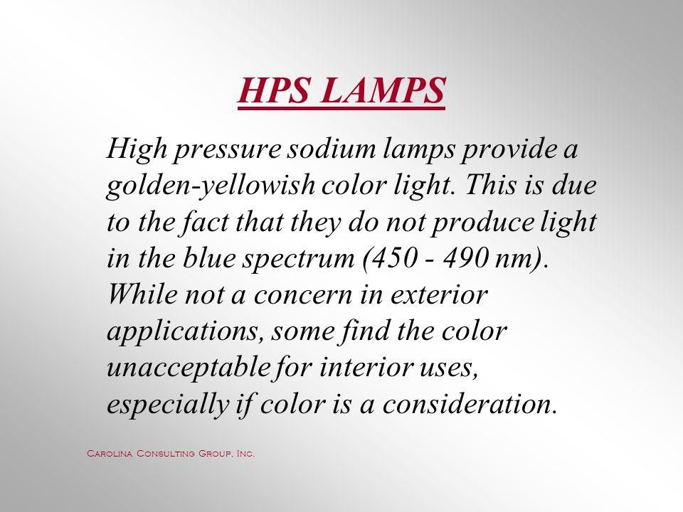 HPS LAMPS