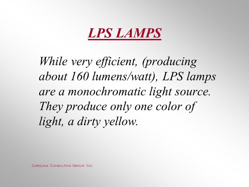 LPS LAMPS