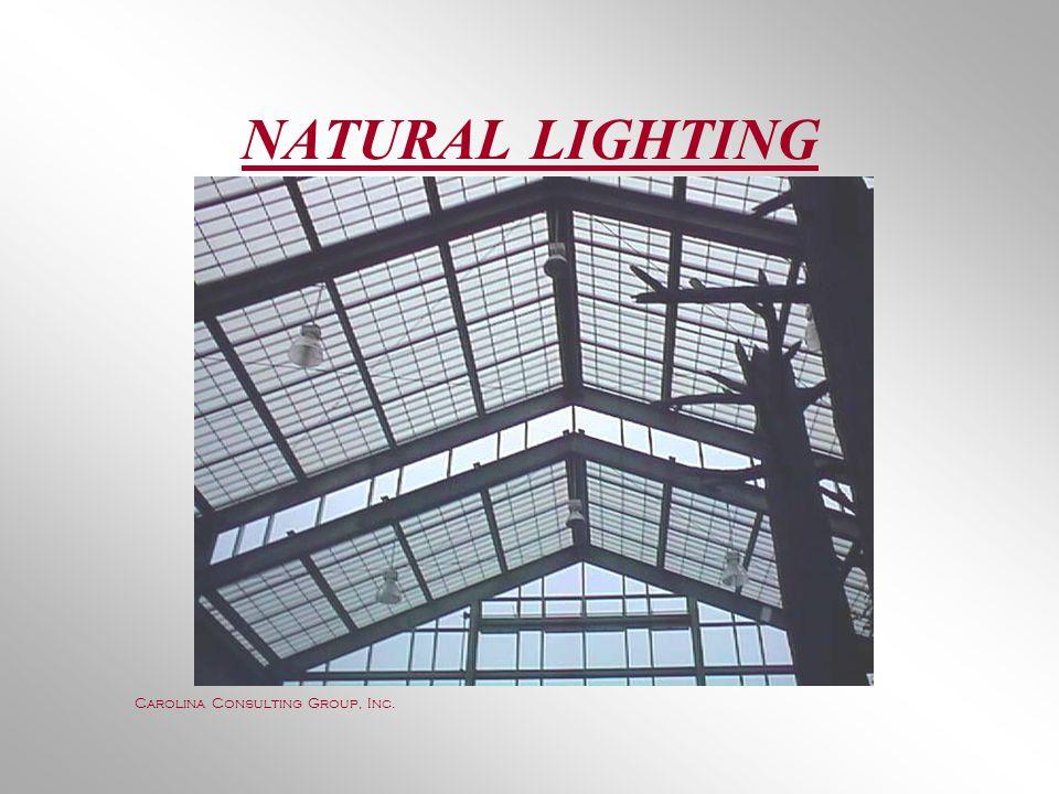 NATURAL LIGHTING Carolina Consulting Group, Inc.