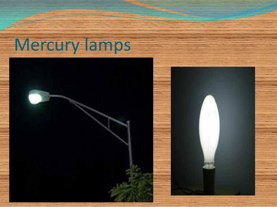 Mercury lamps