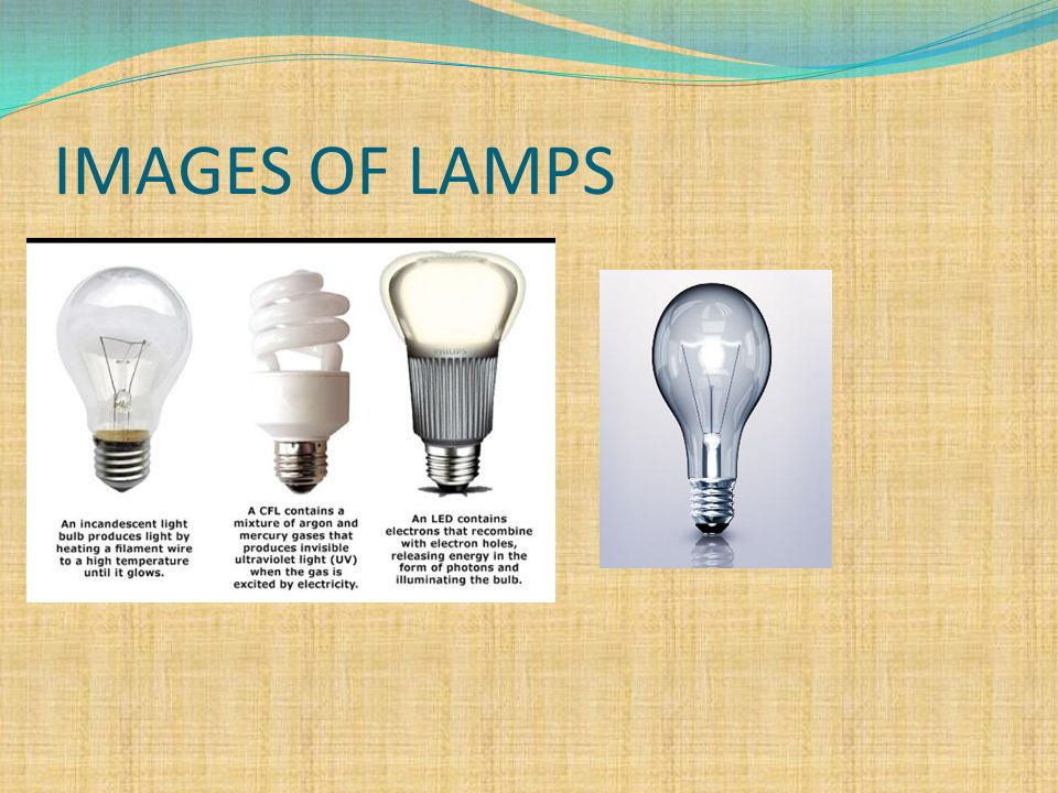 IMAGES OF LAMPS