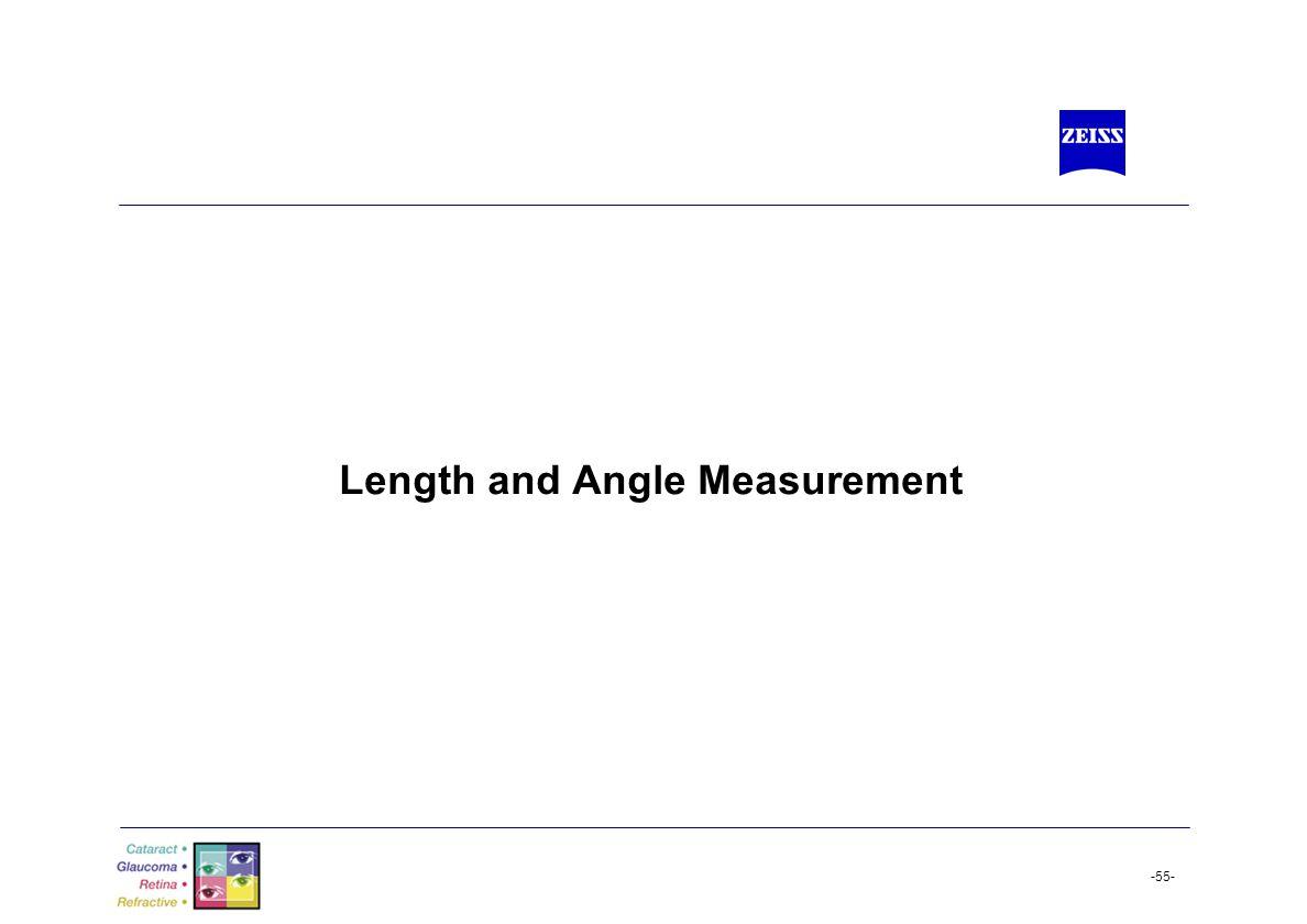 Length and Angle Measurement