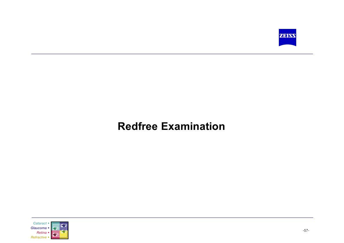 Redfree Examination